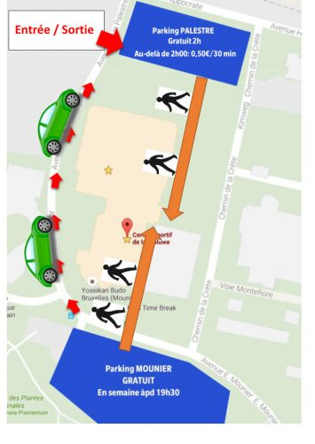 Ouverture exceptionnelle du parking Mounier