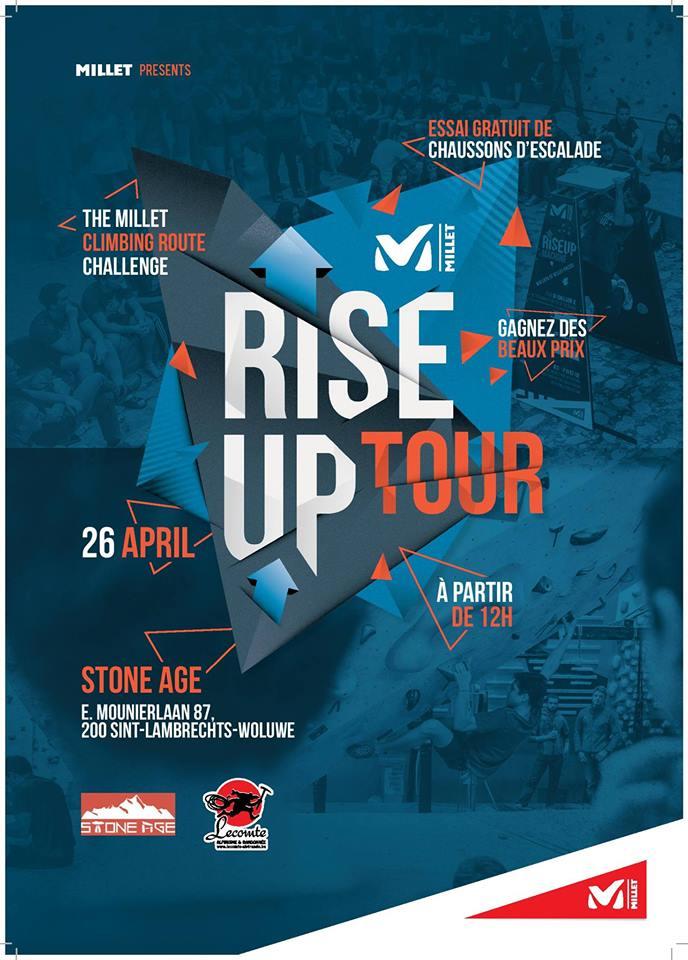 MILLET – Rise Up Tour 26 avril à partir de 16h